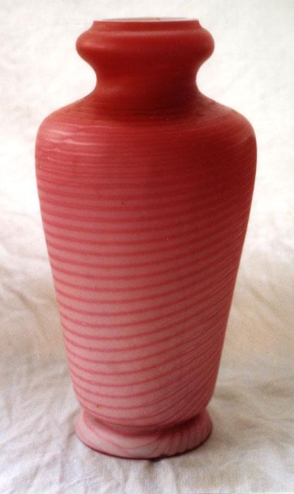 Spiral Vase 3 47000 Red Fern Glass Shopping