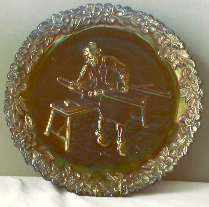 Fenton Glass Plate