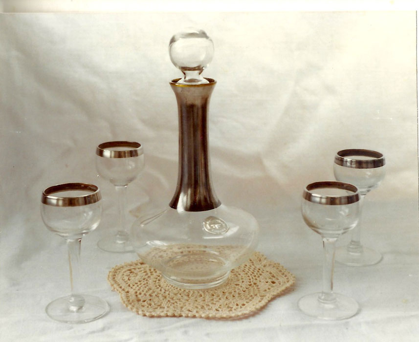 Decanter Set, Dorothy C. Thorpe