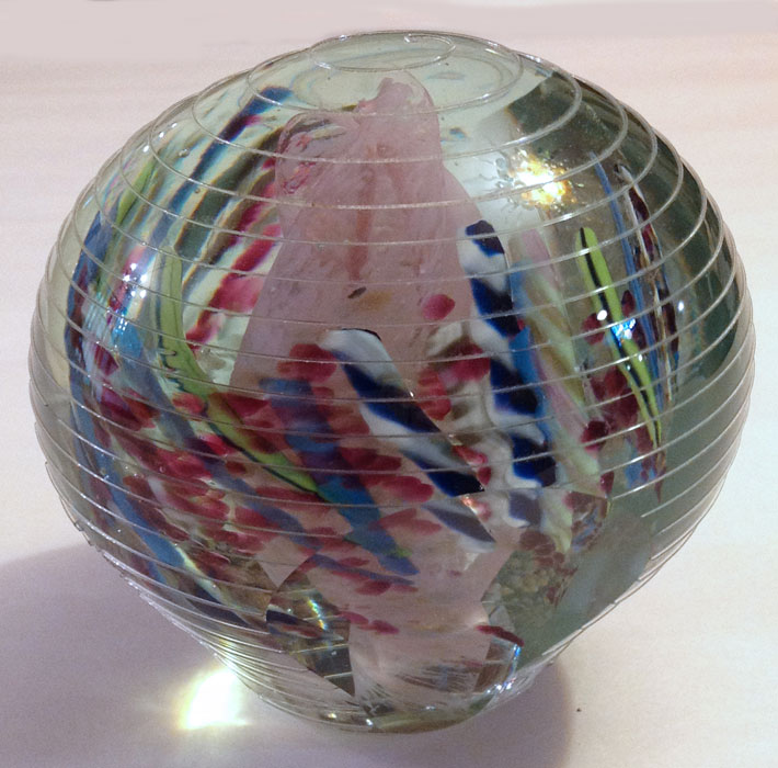 Large Threaded Paperweight